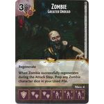 Zombie - Greater Undead - Tomb of Annihilation - Dungeons & Dragons Dice Masters - Big Orbit Cards