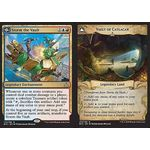 Storm the Vault // Vault of Catlacan - Rivals of Ixalan - Magic the Gathering - Big Orbit Cards