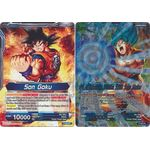 Son Goku / Awakened Strike SSB Son Goku - DBS Promo Cards - Dragon Ball Super Card Game - Big Orbit Cards