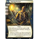 Inspiring Presence - The Pallid Mask - Arkham Horror The Card Game - Big Orbit Cards