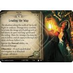 Leading the Way / The Secret Exit - The Pallid Mask - Arkham Horror The Card Game - Big Orbit Cards
