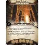 Stone Archways / Catacombs - The Pallid Mask - Arkham Horror The Card Game - Big Orbit Cards