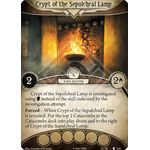 Crypt of the Sepulchral Lamp / Catacombs - The Pallid Mask - Arkham Horror The Card Game - Big Orbit Cards