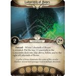 Labyrinth of Bones / Catacombs - The Pallid Mask - Arkham Horror The Card Game - Big Orbit Cards