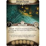 Blocked Passage / Catacombs - The Pallid Mask - Arkham Horror The Card Game - Big Orbit Cards