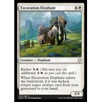 Excavation Elephant - Dominaria - Magic the Gathering - Big Orbit Cards