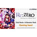 Weiss Schwarz Re:ZERO -Starting Life in Another World- Trial Deck - WS Sealed Products - Weiss Schwarz - Big Orbit Cards