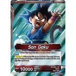Son Goku // Energy Burst Son Goku - Colossal Warfare - Dragon Ball Super Card Game - Big Orbit Cards