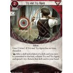 Try and Try Again - The Boundary Beyond - Arkham Horror The Card Game - Big Orbit Cards