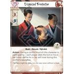 Disguised Protector - The Ebb and Flow - Legend of the Five Rings LCG - Big Orbit Cards