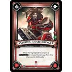 Aspiring Deathbringer (Unclaimed) - Warhammer Age of Sigmar: Champions - Big Orbit Cards