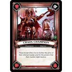 Chaos Champion (Unclaimed) - Warhammer Age of Sigmar: Champions - Big Orbit Cards