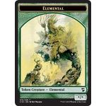 Elemental / Thopter (026) Double-sided Token - Commander 2018 - Magic the Gathering - Big Orbit Cards