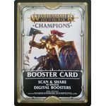 Digital Booster Card (Unclaimed) - Warhammer Age of Sigmar: Champions - Big Orbit Cards