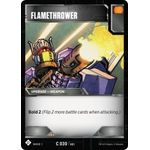 Flamethrower - Wave 1 - Transformers TCG - Big Orbit Cards