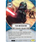 Fear and Dead Men - Across the Galaxy - Star Wars Destiny - Big Orbit Cards