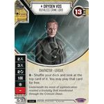 Dryden Voss - Ruthless Crime Lord - Across the Galaxy - Star Wars Destiny - Big Orbit Cards