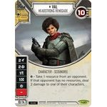 Val - Headstrong Renegade - Across the Galaxy - Star Wars Destiny - Big Orbit Cards