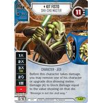Kit Fisto - Shii-Cho Master - Across the Galaxy - Star Wars Destiny - Big Orbit Cards