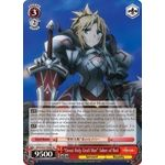 Great Holy Grail War Saber of Red - Fate/Apocrypha Trial Deck - Weiss Schwarz - Big Orbit Cards