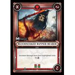 Bloodsoaked Banner Bearer (Unclaimed) - Onslaught - Warhammer Age of Sigmar: Champions - Big Orbit Cards