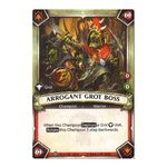 Arrogant Grot Boss (Unclaimed) - Onslaught - Warhammer Age of Sigmar: Champions - Big Orbit Cards