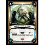 Averon Stormsire (Unclaimed) (Foil) - Warband - Warhammer Age of Sigmar: Champions - Big Orbit Cards