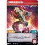 Captain Ironhide - Infantry Bodyguard - Wave 3 - Transformers TCG - Big Orbit Cards