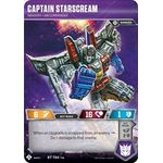 Captain Starscream - Infantry Air Commander - Wave 3 - Transformers TCG - Big Orbit Cards