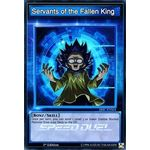 Servants of the Fallen King - Super Rare (Limited Edition) - Speed Duel Scars of Battle - Yu-Gi-Oh! - Big Orbit Cards