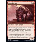 Ogre Errant (Foil) - Throne of Eldraine - Magic the Gathering - Big Orbit Cards