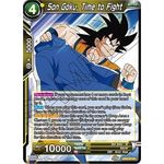 Son Goku, Time to Fight - Destroyer Kings - Dragon Ball Super TCG - Big Orbit Cards