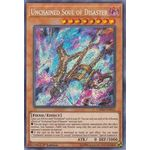 Unchained Soul of Disaster - Secret Rare (1st Edition) - Chaos Impact - Yu-Gi-Oh! - Big Orbit Cards