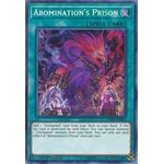 Abomination's Prison - Secret Rare (1st Edition) - Chaos Impact - Yu-Gi-Oh! - Big Orbit Cards