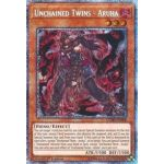 Unchained Twins - Aruha - Prismatic Secret Rare (1st Edition) - Chaos Impact - Yu-Gi-Oh! - Big Orbit Cards