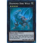 Diamond Dire Wolf - Super Rare (1st Edition) - 2013 Collectors Tins - Yu-Gi-Oh! - Big Orbit Cards
