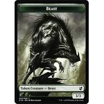 Beast // Wurm Token - Commander 2019 - Magic the Gathering - Big Orbit Cards