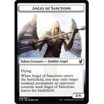 Angel of Sanctions // Horror Token - Commander 2019 - Magic the Gathering - Big Orbit Cards