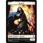 Human // Treasure Token - Commander 2019 - Magic the Gathering - Big Orbit Cards