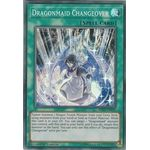 Dragonmaid Changeover - Super Rare (1st Edition) - Mystic Fighters - Yu-Gi-Oh! - Big Orbit Cards