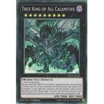 True King of All Calamities - Super Rare (1st Edition) - Mystic Fighters - Yu-Gi-Oh! - Big Orbit Cards