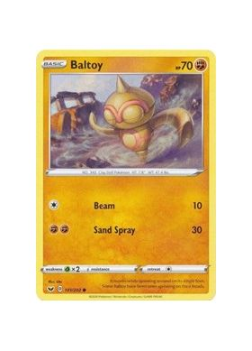 Baltoy (101) (Reverse Holo) - Sword and Shield - Pokemon - Big Orbit Cards