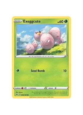 Exeggcute (Reverse Holo) - Vivid Voltage - Pokemon - Big Orbit Cards