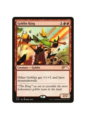 Goblin King - Secret Lair Drop Series - Magic the Gathering - Big Orbit Cards