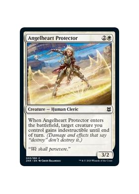 Angelheart Protector (Foil) - Zendikar Rising - Magic the Gathering - Big Orbit Cards