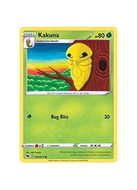 Kakuna - Champion's Path - Pokemon - Big Orbit Cards