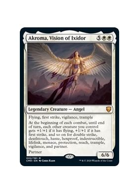 Akroma, Vision of Ixidor (Foil) - Commander Legends - Magic the Gathering - Big Orbit Cards