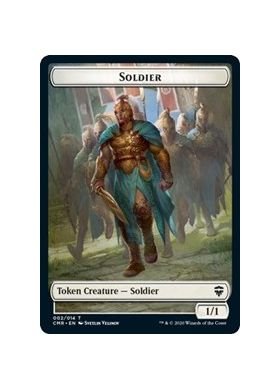 Soldier Token - Commander Legends - Magic the Gathering - Big Orbit Cards