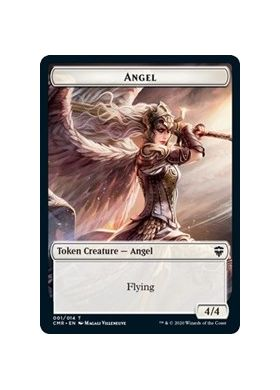 Angel / Soldier Double-sided Token