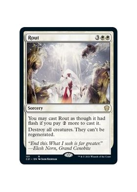 Rout - Commander 2021 - Magic the Gathering - Big Orbit Cards